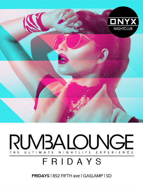 Rumba Lounge Fridays
